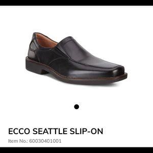 Ecco | Seattle Slip On Black Size 45